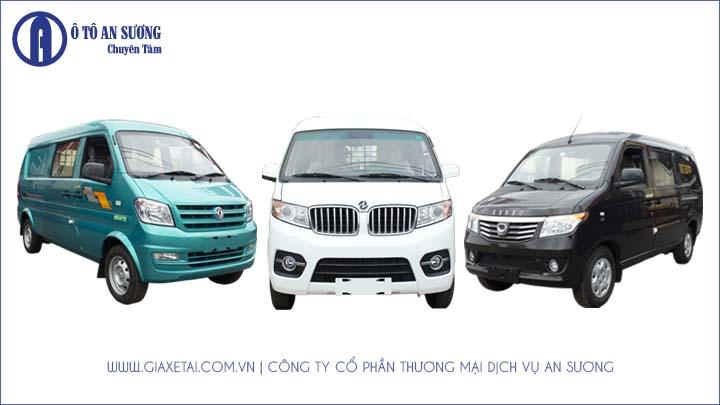 Những dòng xe tải Van được ưa chuộng tại Việt Nam 2020